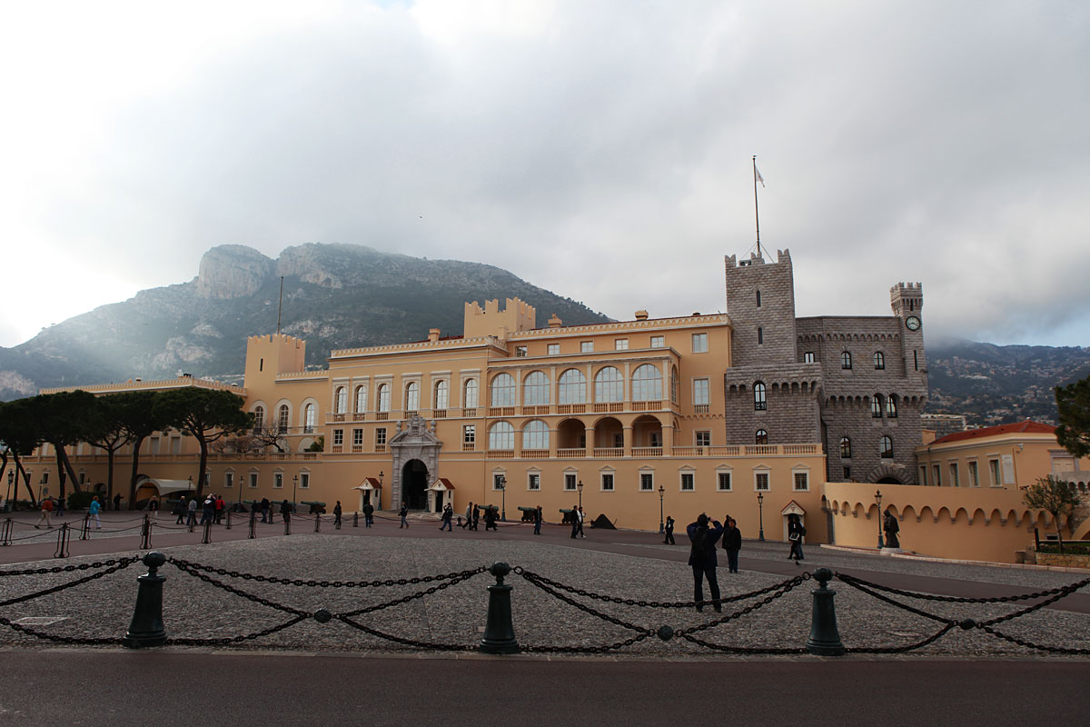 Palace in Monaco