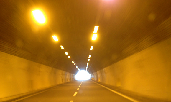 Tunnels to Pisa, Italy